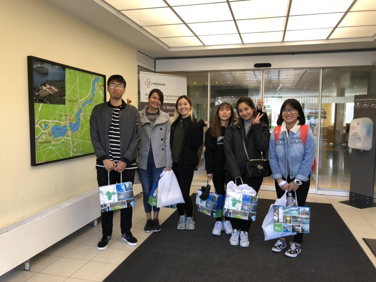 Các bạn học viên IVES đang học tập và sinh sống tại Đức